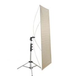 Falcon Eyes Reflector RR-3570S Silver/White 89x178 cm