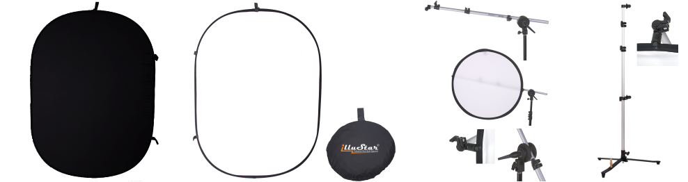 Collapsible Backdrop Panel